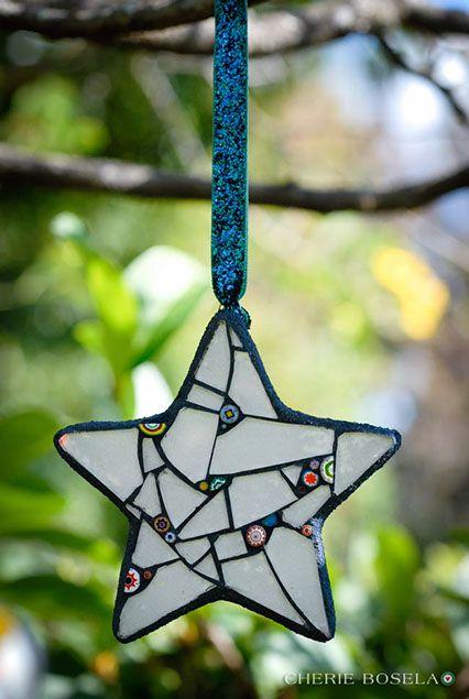 Small Wall Art/ Ornaments 2014 - - Cherie Bosela - Fine Art Mosaics & Photography -