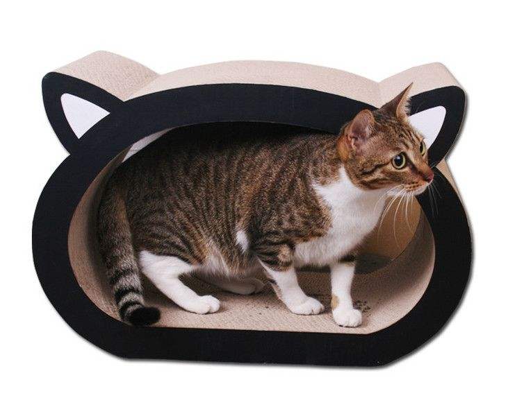 Dog Beds – DIY corrugated Cat House – a unique product by Oceanmap on DaWanda