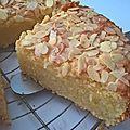 Gâteau moelleux citron-amandes-mascarpone