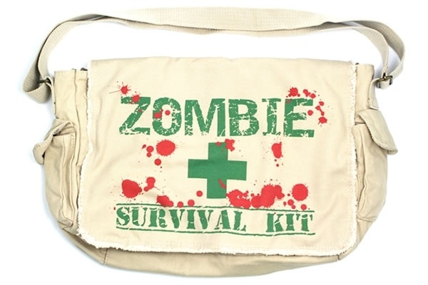 Zombie Survival Kit - Messenger Bag    #NeatoPinToWin