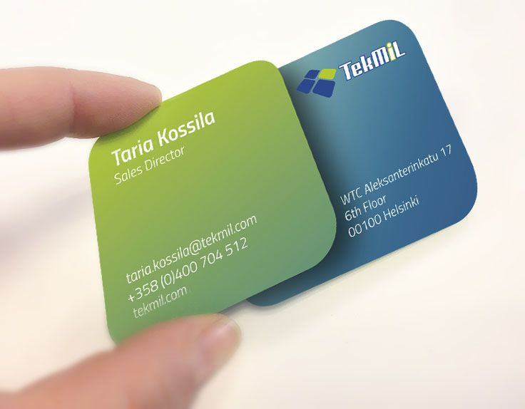 TekMiL business cards