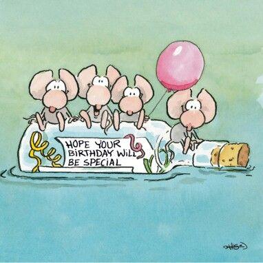 Verjaardagskaart Leendert Jan Vis