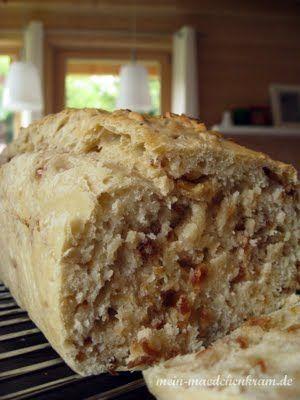 Heute frisch aus dem Ofen: Zwiebelbrot