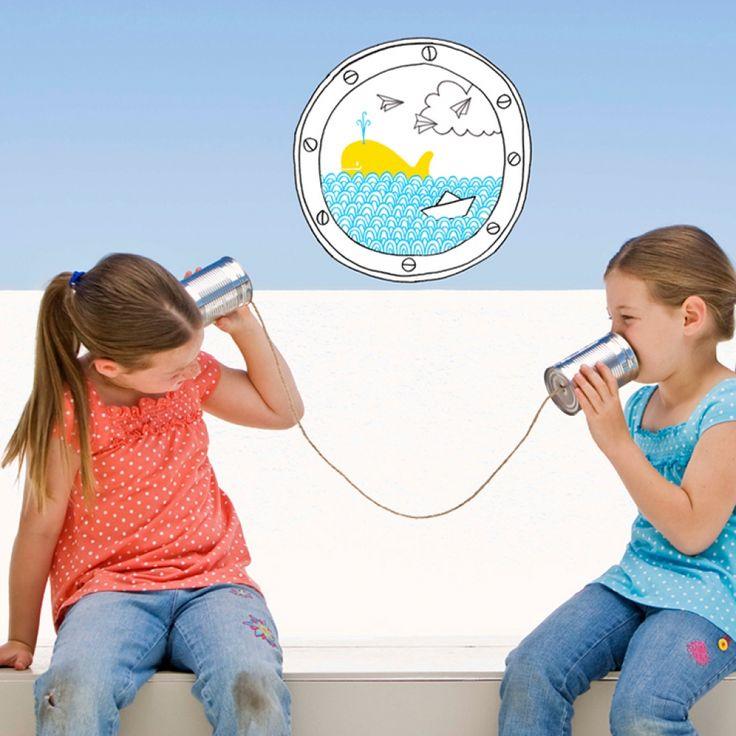 Наклейка «Иллюминатор» #littlemoon #littlemoonstore #chispum #наклейка #девочки #мальчики  #дети #малыши #дом #дизайн #декор #интерьер #детская #стены