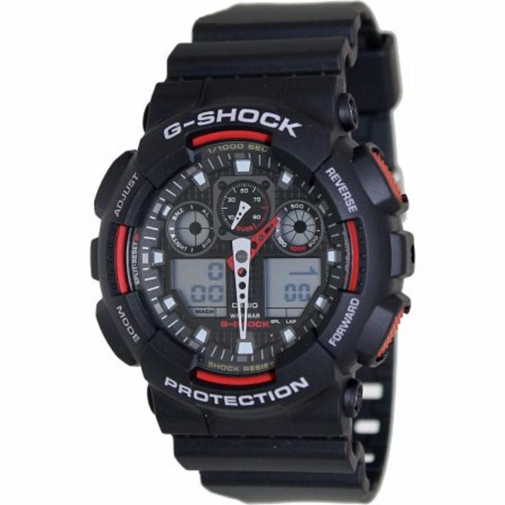 Black Red Sports Watch G Shock Men's Watch free shipping New