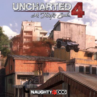 Uncharted 4 - Madagascar City, David Baldwin on ArtStation at https://www.artstation.com/artwork/E9nx2