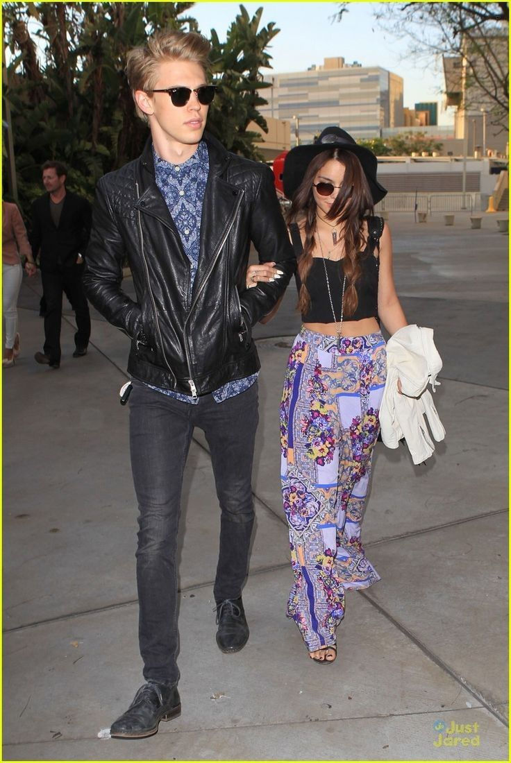 Stylish Couple: Vanessa Hudgens and Austin Butler arrive for The Rolling Stones concert on Friday (May 3) in LA!... - Celebrity Street Style