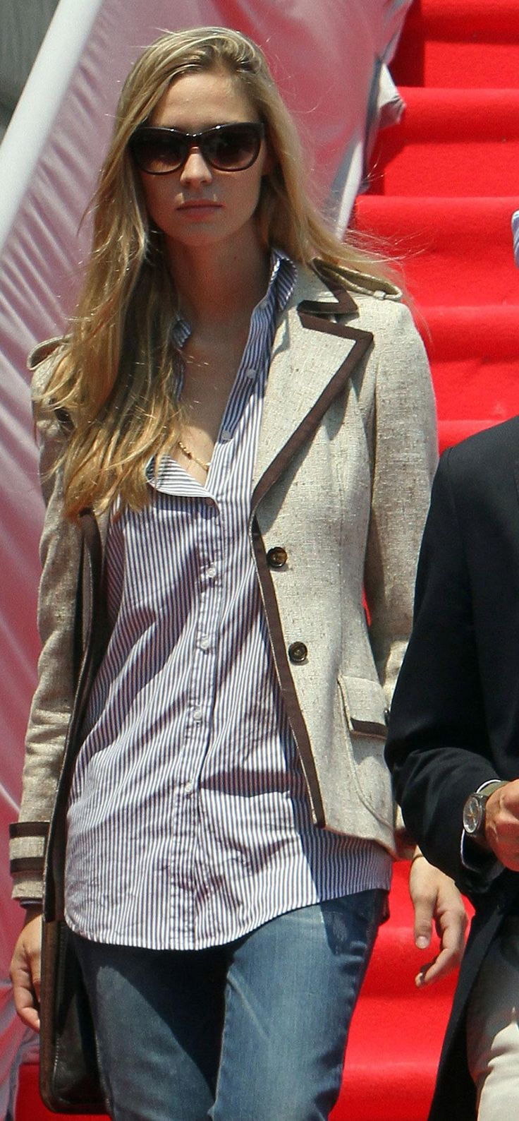Beatrice Borromeo, Monaco's Kate Middleton, has super style (like this easy layered look we love for fall). Click for 7 amazing outfits