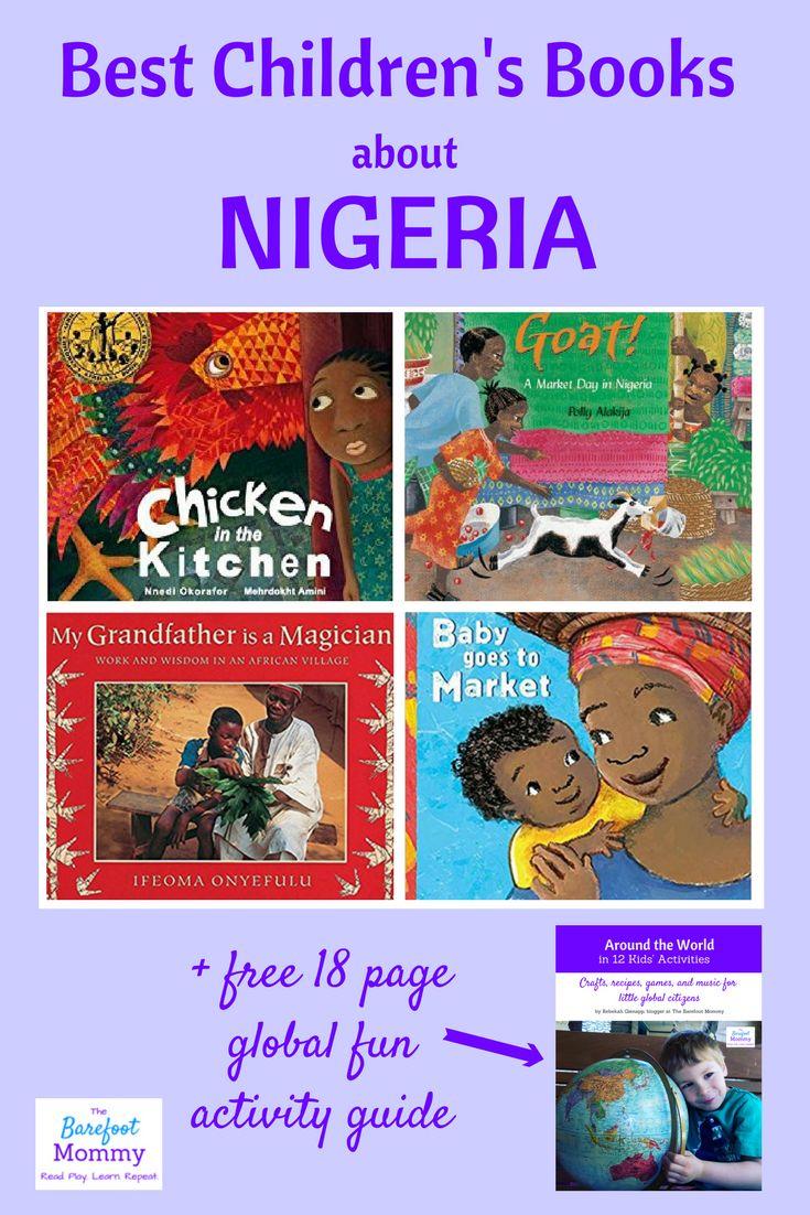 Children's books about Nigeria | Nigeria activities for children | Games for children from Nigeria | Africa children's activities