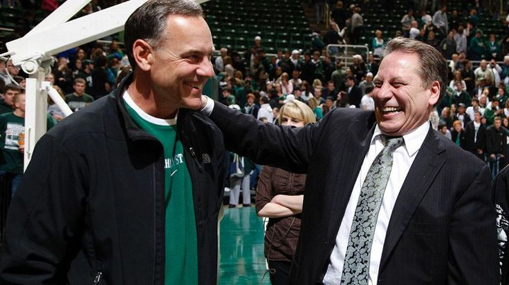 The unique relationship between Michigan State Spartans' Mark Dantonio and Tom Izzo