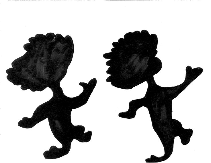 Thing 1 & Thing 2 Silhouette | Seuss Quote Board | Pinterest ...