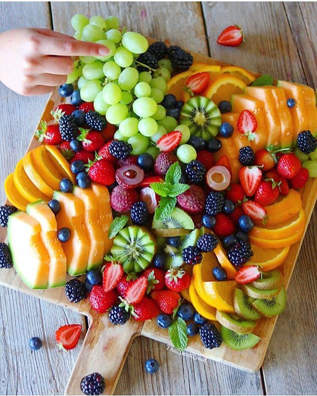 Eat the Rainbow I know there are a few fruit lovers amongst youso here's one from my birthday weekend..so simple and easy to throw together, just choose all your favorite juicy fruits, and get creative!! Anything goes What would be your fav fruit to put on a platter? I'm lovin Lychees at the mo,so so good!! : Thankyou to @foodandwine For sharing my breakfast spread from the other day!! : Hope everyone's week has started off on a good note