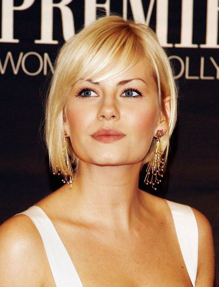 Neck Length Hairstyles with Bangs Neck Length Hairstyles with Bangs