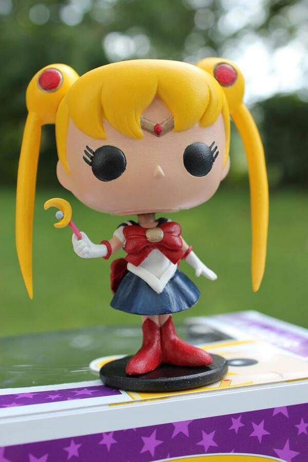 Custom POP! Vinyl of Sailor Moon. They obviously need to make all of the characters for me to empty my wallet on.