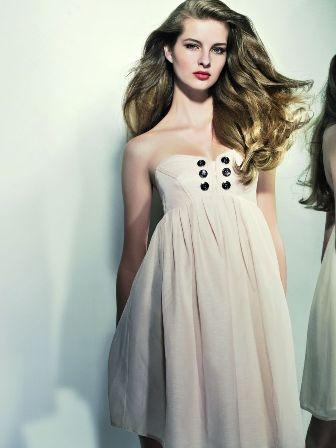 dress kaviar gauche for karstadt fashion gowns cream dress