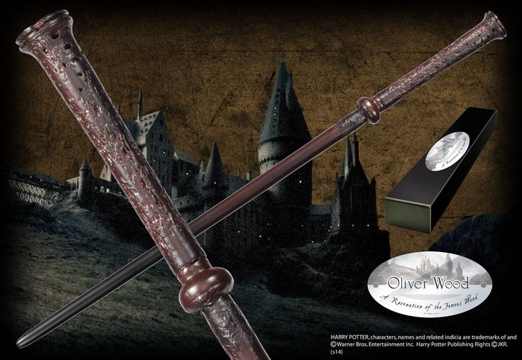 Oliver Wood's Character Wand - The Noble Collection
