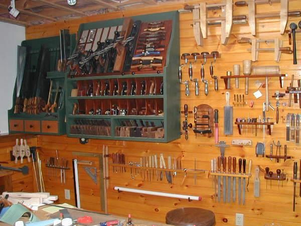 Nice Tool Collection And Display Tools Parts Storage