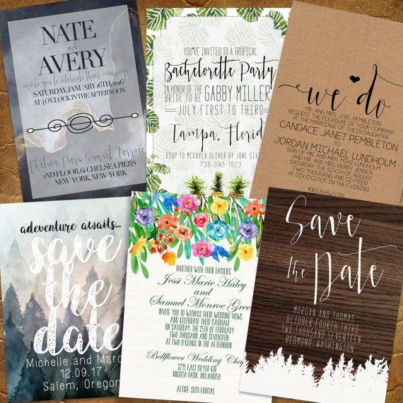 Best 25+ Simple Wedding Invitations Ideas On Pinterest