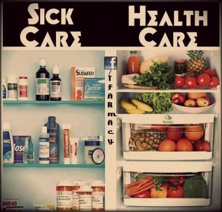 Medicine is a bandaid whole food is fuel