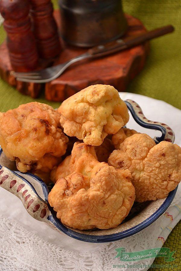 Cauliflower cutlets - Conopida Pane