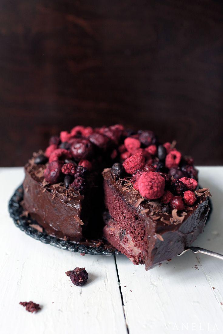 Vanelja.fi - Suklaa-punajuuri-kakku