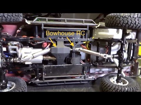 RC4WD TF2 MOD Installing BOWHOUSE RC parts