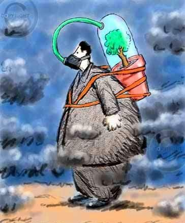 """""""Tal vez más peligrosa para la integridad del medio ambiente que las propias amenazas estratégicas sea nuestra manera de percibirlas: de hecho, la mayor parte de la gente se resiste a aceptar la extrema gravedad de la situación"""" ► Capitan Planeta ◄"""