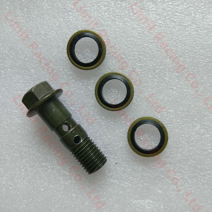 Retail wholesale 30mm Motorcycle Brake Banjo Bolt M10 x1.25 hydraulic brake hose caliper Adaptor for 125cc 150cc 200cc 250cc atv