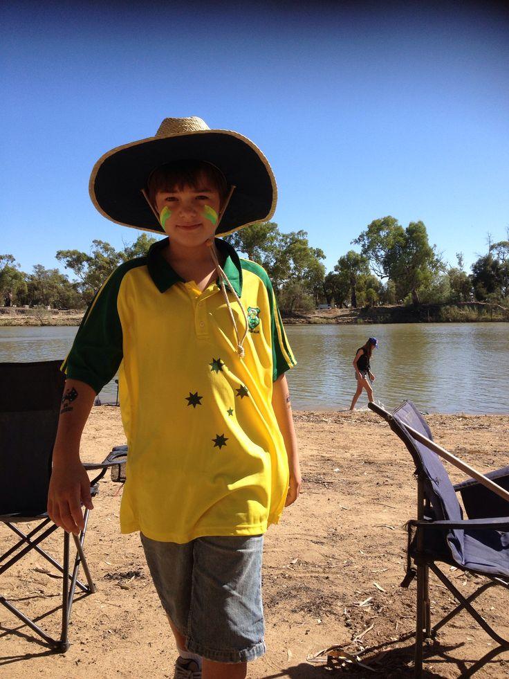 Camping Australia Day 2013 #AustraliaDayOnboard