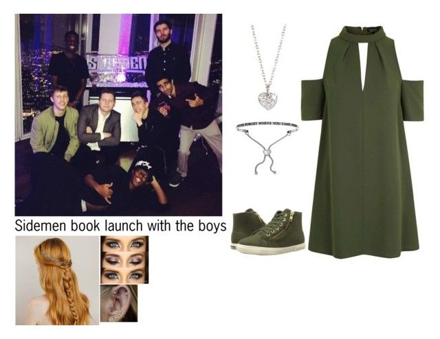 """""""Sidemen book launch with the boys"""" by brookie5sos ❤ liked on Polyvore featuring Topshop, Superga and Finn"""