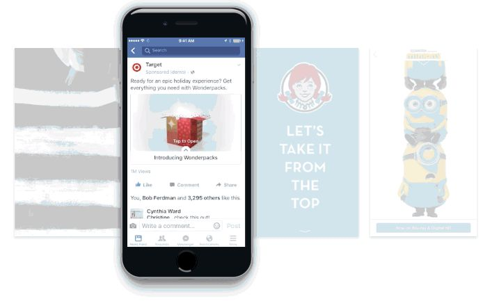 A quick, visual guide to all the Facebook Ads Types available to promote your business. Find the best way to promote your message with Facebook Advertising.