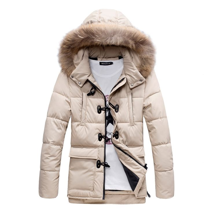 68.00$  Watch here - http://alici4.worldwells.pw/go.php?t=32742864896 - Trendy young han edition 2016 autumn/winter coat Men's horn brief paragraph hooded cotton-padded clothes 68.00$