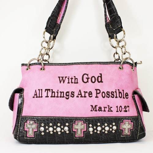 Pink Western Handbag Religious really like this
