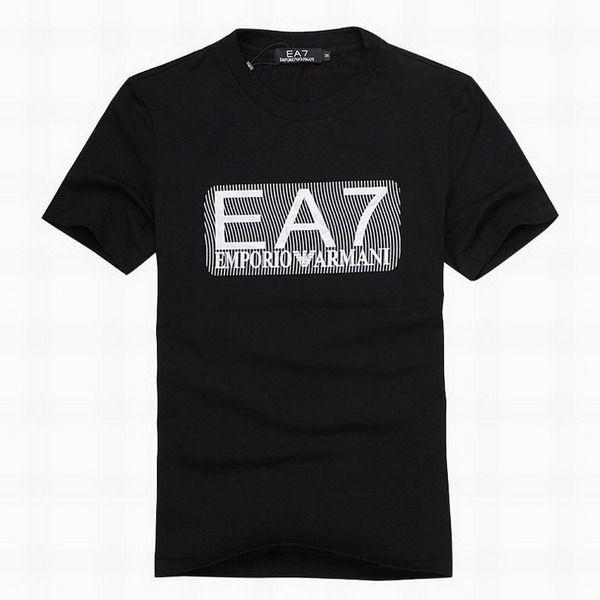 polo ralph lauren outlet online EA7 Emporio Armani Logo Short Sleeve Men's T-Shirt Black http://www.poloshirtoutlet.us/