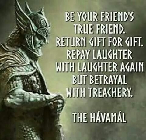 Havamal wisdom                                                                                                                                                                                 More
