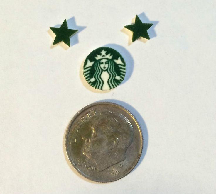 3 STARBUCKS  FLOATING LOCKET CHARMS STARS COFFEE STARBUCK    eBay