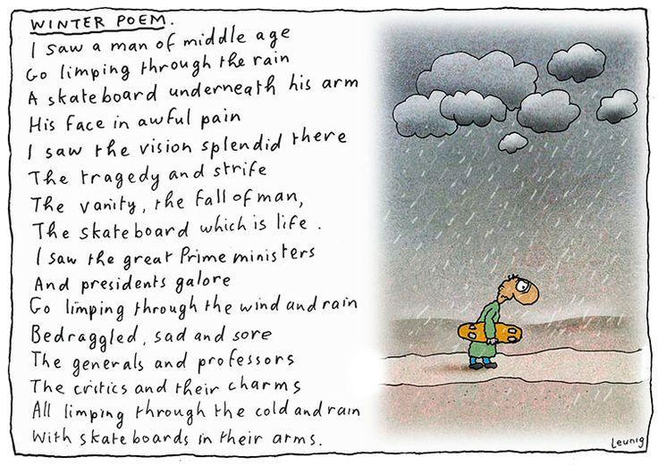 winter poem w