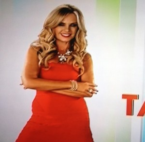 Tamra Barney's Red Opening Credits Dress http://www.bigblondehair.com/real-housewives/rhoc/tamra-barneys-opening-credits-red-dress/