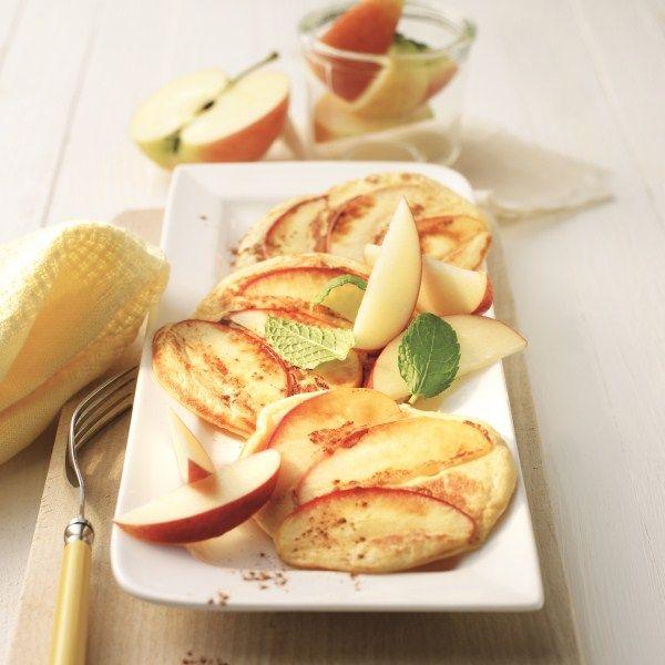 Pannenkoeken met appel! Nu wordt het echt feest! #WeightWatchers #WWrecept