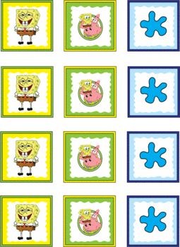 Spongebob Stickers, Spongebob, Stickers - Free Printable Ideas from Family Shoppingbag.com