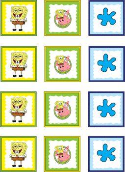 Spongebob Stickers, Spongebob, Stickers - Free Printable Ideas from Family Shoppingbag.com