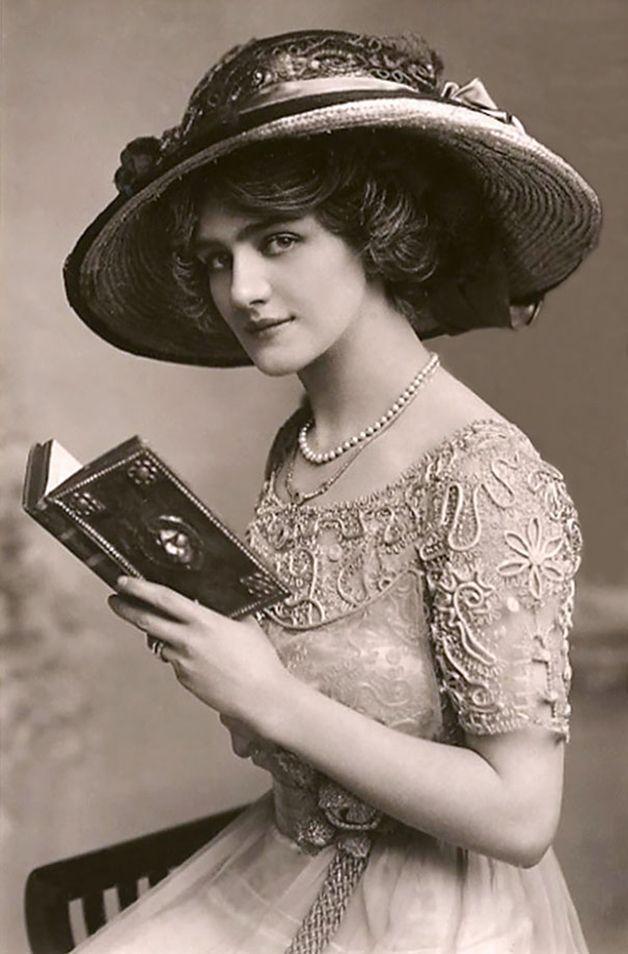 Lily Elsie atriz inglesa 1900PostCards3