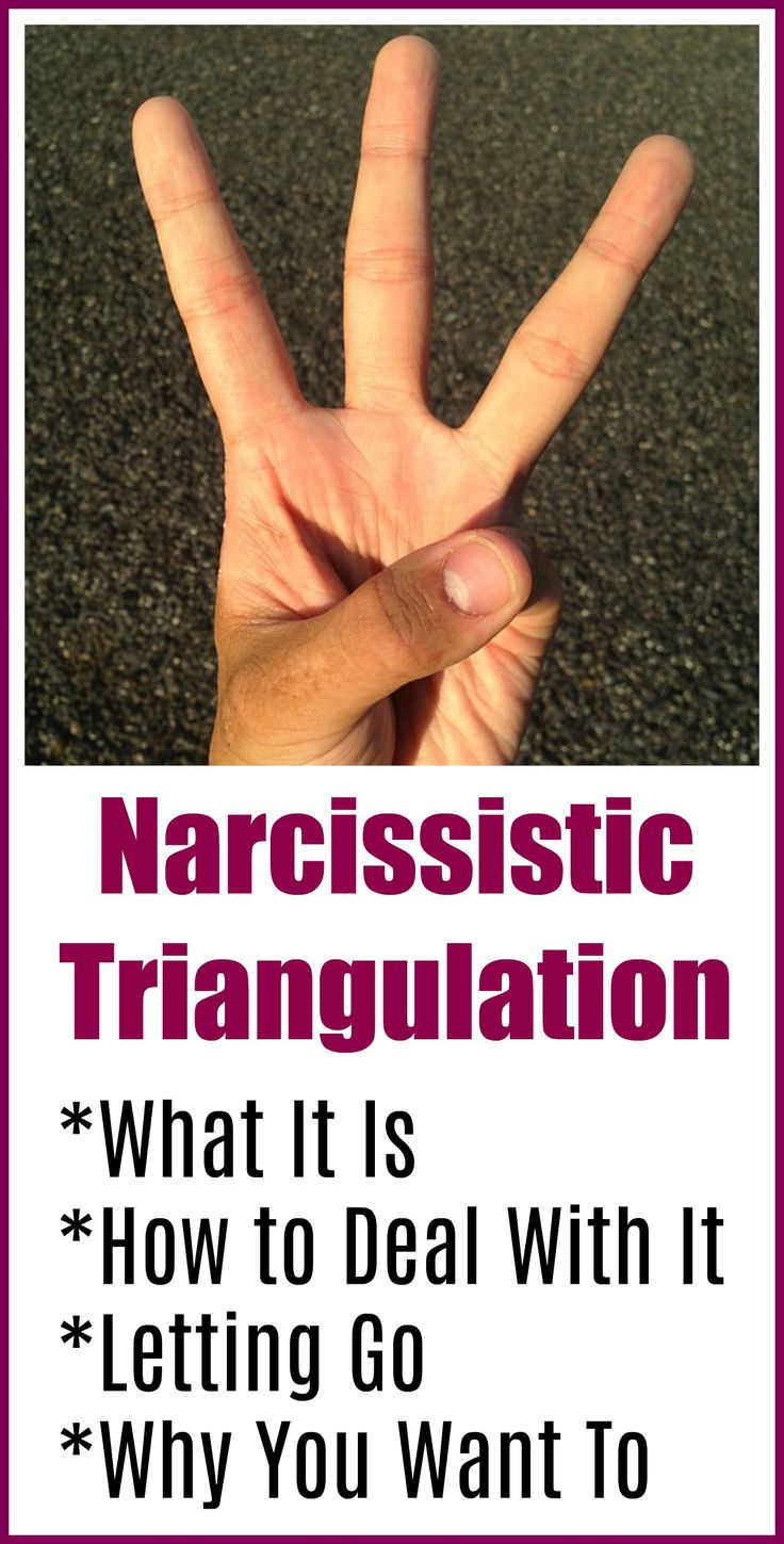 How To React To Narcissistic Triangulation in 2020 ...
