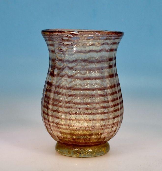 "Barovier & Toso Vase ""a spirali""  Murano"
