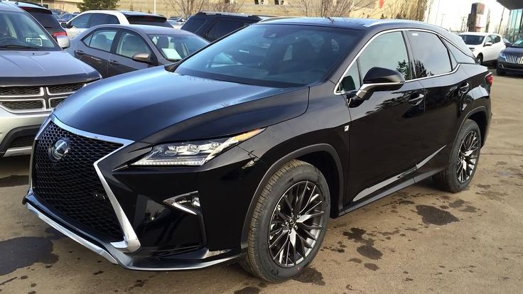 2016 Lexus RX 350 AWD F Sport Review