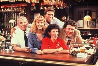 Cheers! Love! I use to watch this show all the time with my mom and I found it on Netflix and started watching it again. Great show!