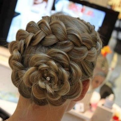 Awesome: French Braids, Hair Flowers, Wedding Hair, Flowers Braids, Braids Flowers, Flowers Hair, Flowers Buns, Hairstyle, Hair Style