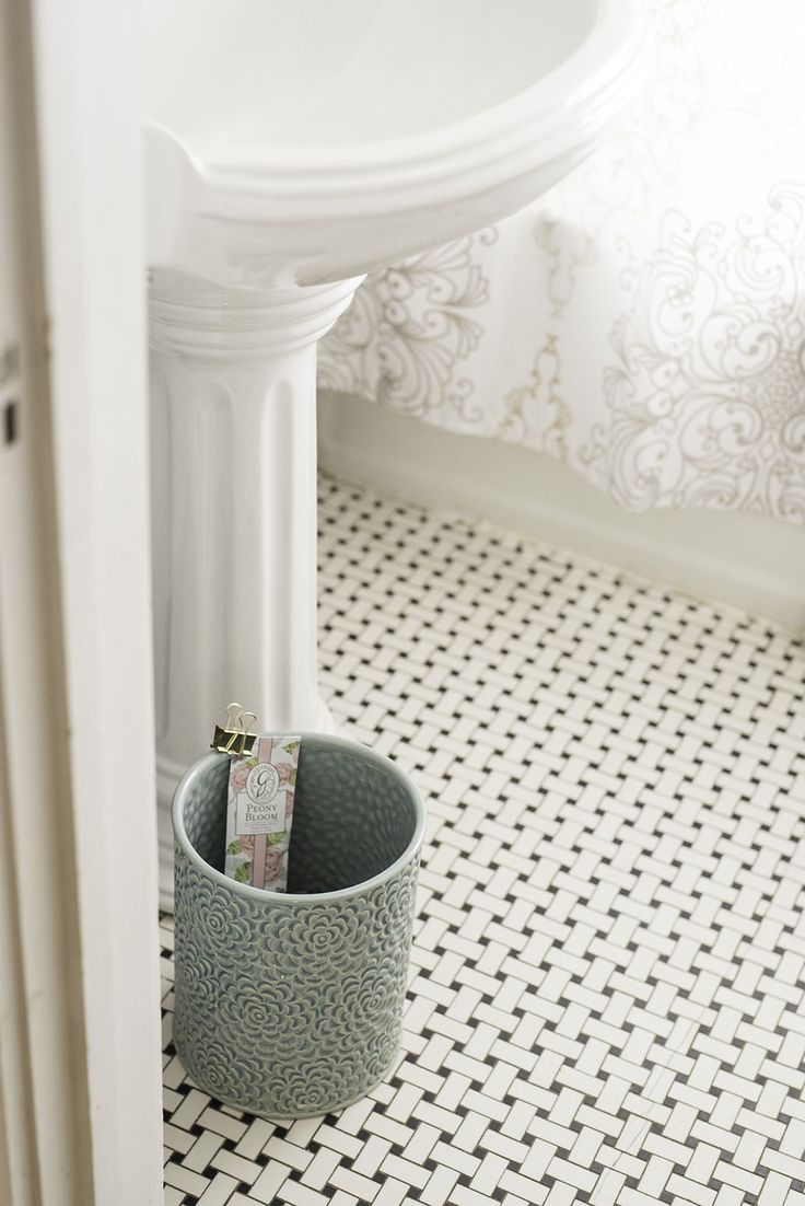 Use #15 - place a sachet on the side on a trash can to keep the space smelling fresh.
