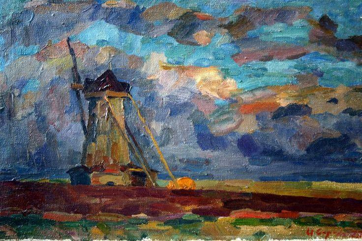 Сорокин Иван Васильевич - Болдино. Вечер (1977)