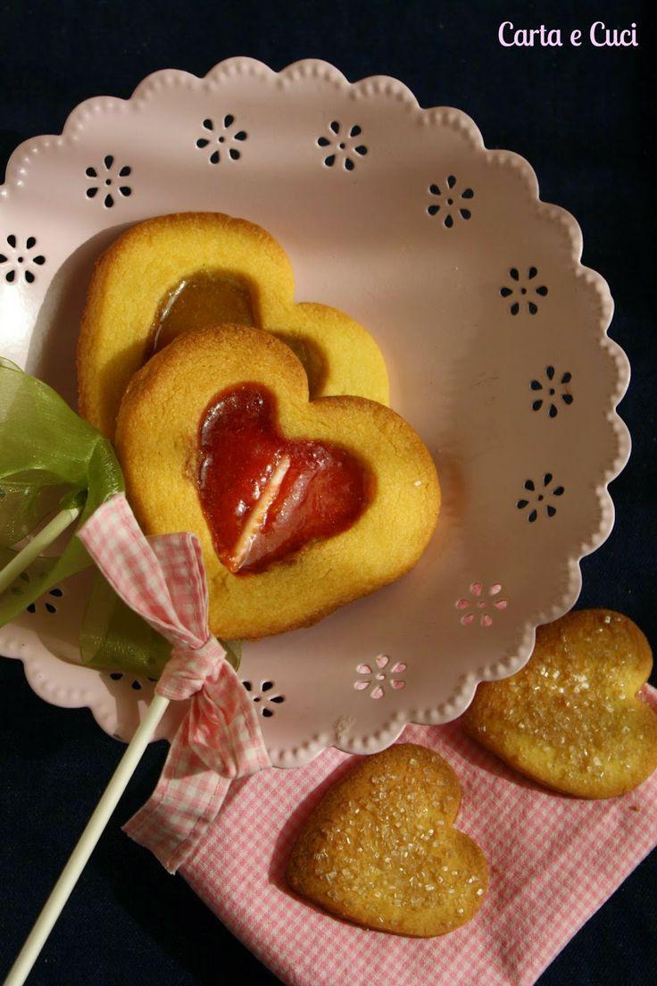 Biscotti con caramelle http://cartaecuci.blogspot.it/2014/06/i-biscotti-delle-principesse-52-wp-2452.html
